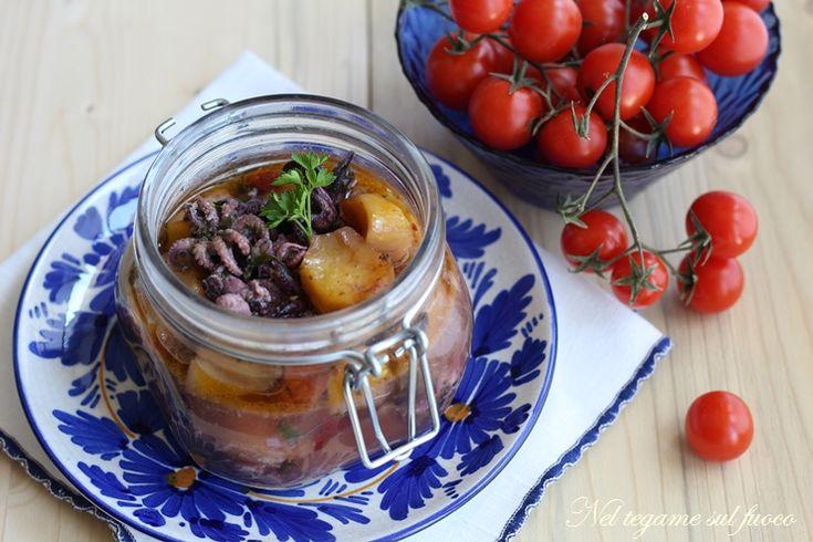Moscardini+in+vasocottura+con+patate+e+aromi