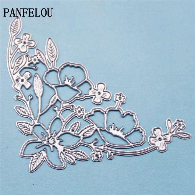 Panfelou крылья бабочки металлу бумаги высечки штампов для скрапбукинга/DIY свадьбы Хэллоуин рука счета карты