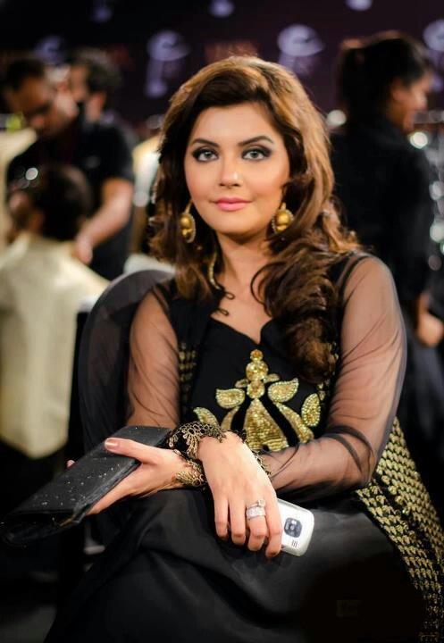 Pakistani actress Nida yasir