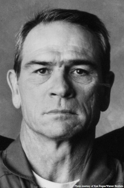 Tommy Lee Jones, love him as an actor. This is the ultimate American male.