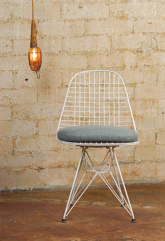 New Cushion For Wire Chair  TITLE: New Cushion For Herman Miller Eames Wire Chair  PRICE: $59.00 each      COUNTRY: United States  CREATION DATE: