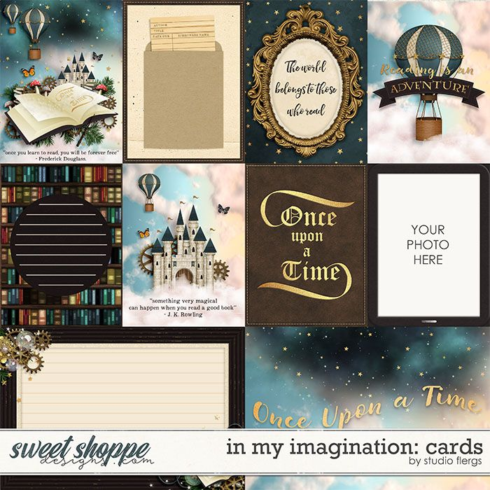 In My Imagination: CARDS by Studio Flergs