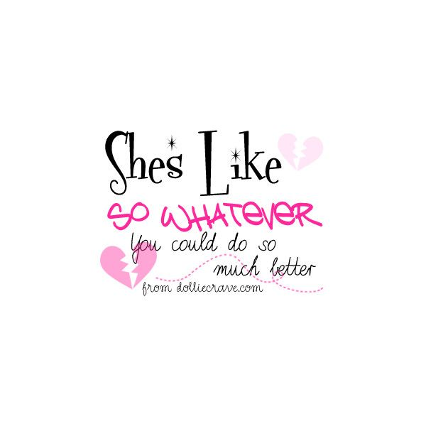 25 best cute girly quotes on pinterest pink glitter - Girly myspace quotes ...