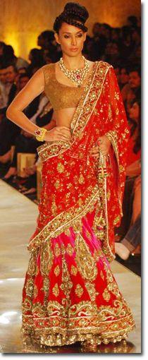 Manish Malhotra Sarees - Fashion Week - Bridal