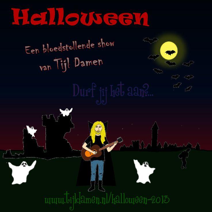 Boek Tijl Damen voor een griezelige interactieve voorstelling in het teken van Halloween! Stampende monsters, zwevende spoken en sluipende dieven!