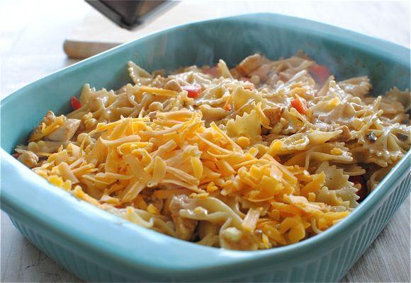 Mexican Chicken Pasta Bake | Recipe