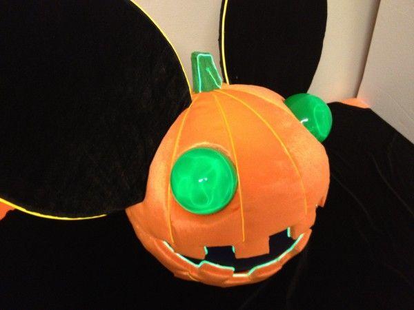 epic deadmau5 pumpkin head - Deadmau5 Halloween Head