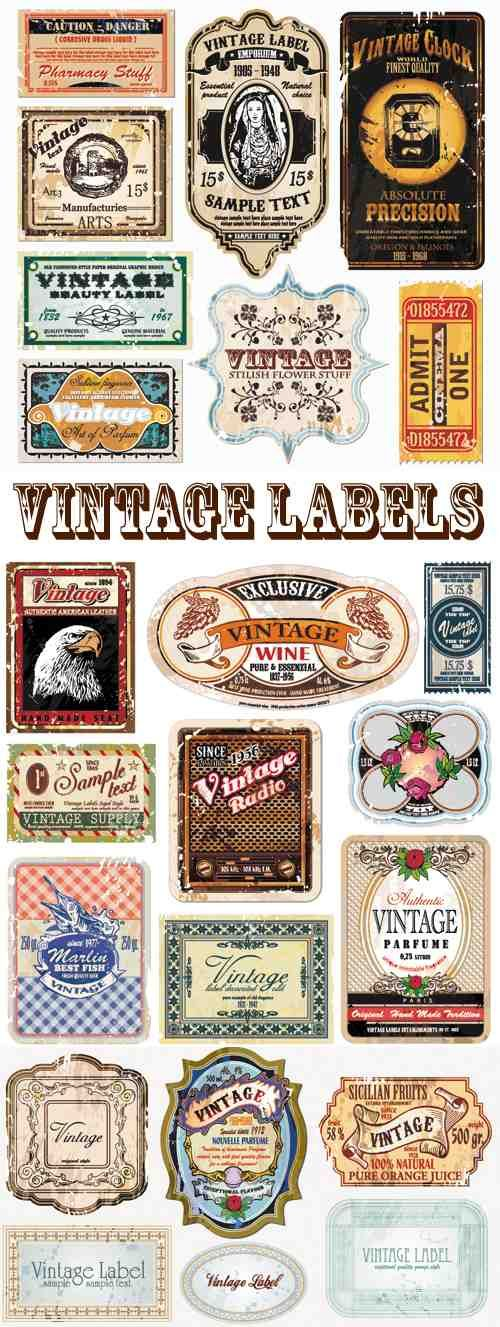 23 Free Vintage Vector Labels vector 23 Free Vintage Vector Labels