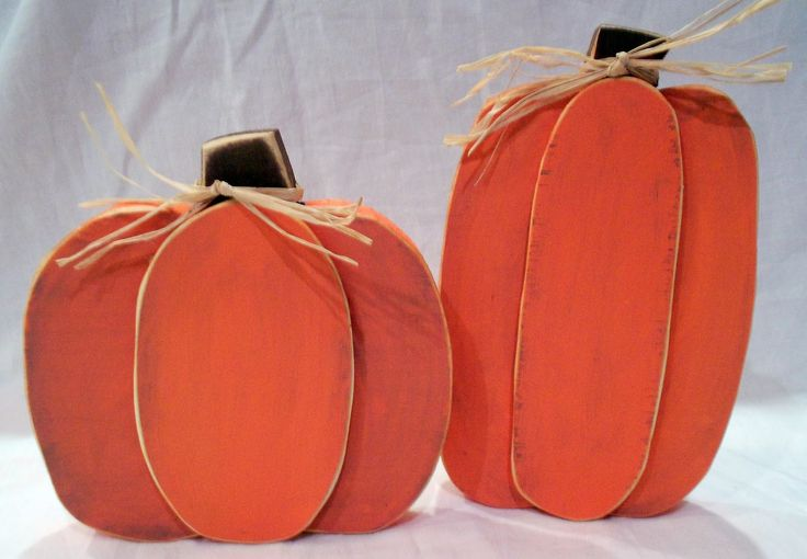 wooden pumpkin crafts - DIY Woodworking Projects