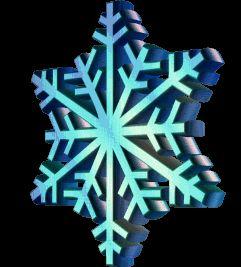 KOKŠOZA - digiscrapbook: ANIMOVANÉ SNĚHOVÉ VLOČKY - ANIMATED SNOWFLAKES