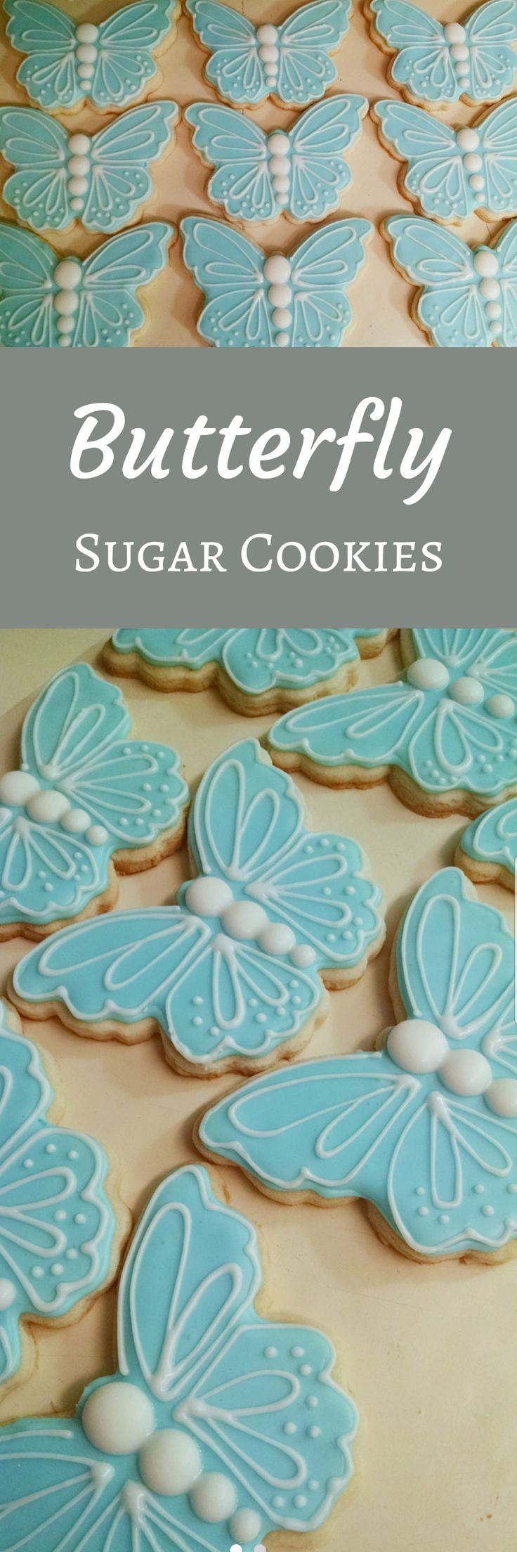 Butterfly cookies; Party Favors, Mother's day, spring, birthday, get well soon #affiliate