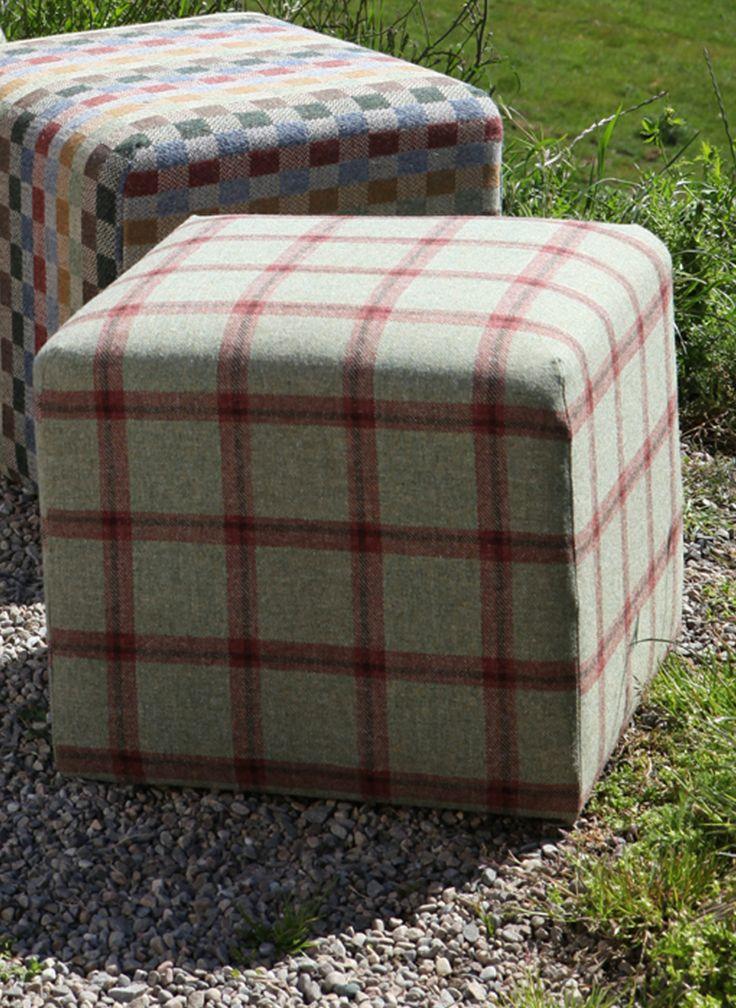 Moniak Tweed Cube | ANTA - made in Scotland