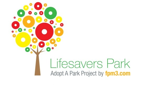 FPM3 adopted Lifesavers Park and here is the logo we designed!