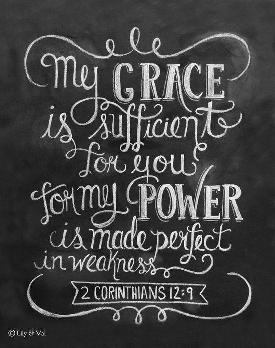 2 Cor 12:9
