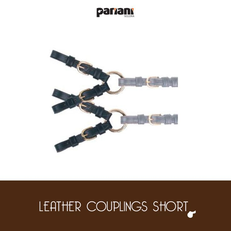 Leather couplings short. Always with #Pariani