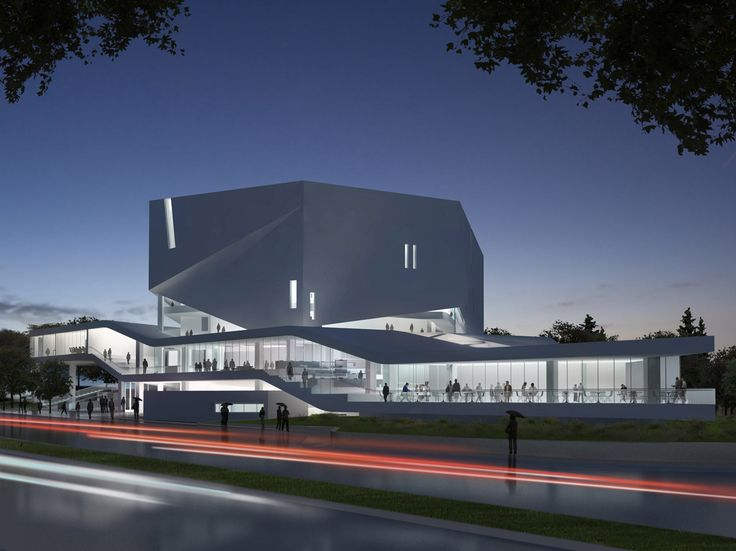 Mashouf Performing Arts Center at San Francisco State University by Michael Maltzan Architecture