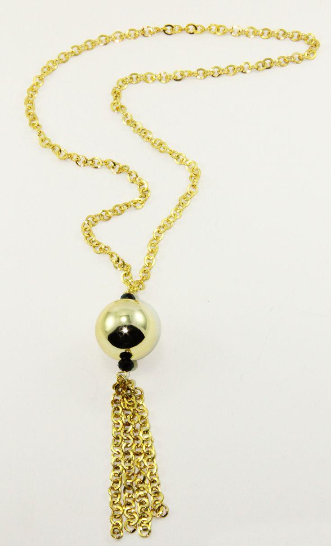 Gold Top Kolye 46 cm uzunluguda. www.suanyemoda.com