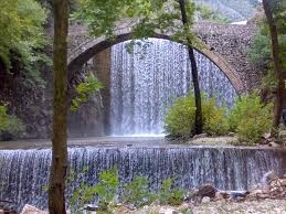 Trikala, Paleokaria. 2 waterfalls and between them, a bridge!