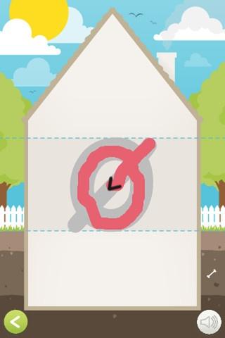 Knæk læsekoden. Her øver man at skrive bogstaverne, så man er klar til den første læsning. God app til 24 kr.