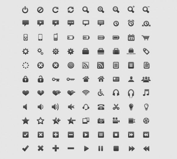 90 Amazing Web/Mobile Design Icons Vector Pack - http://www.dawnbrushes.com/90-amazing-webmobile-design-icons-vector-pack/