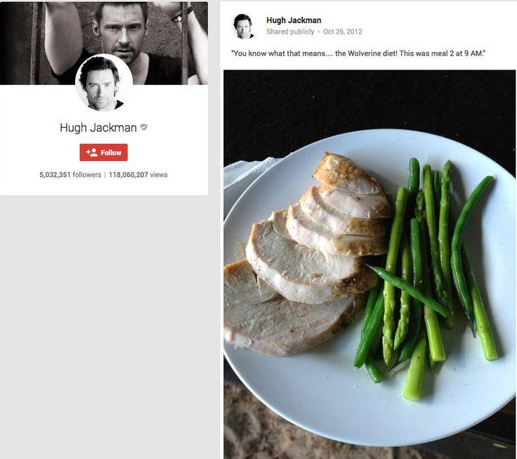 Hugh Jackmans Wolverine Diet and Workout Plan