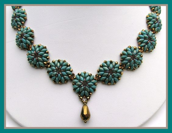 """""""OH"""" Necklace - FREE YouTube Tutorial by OffTheBeadedPath"""
