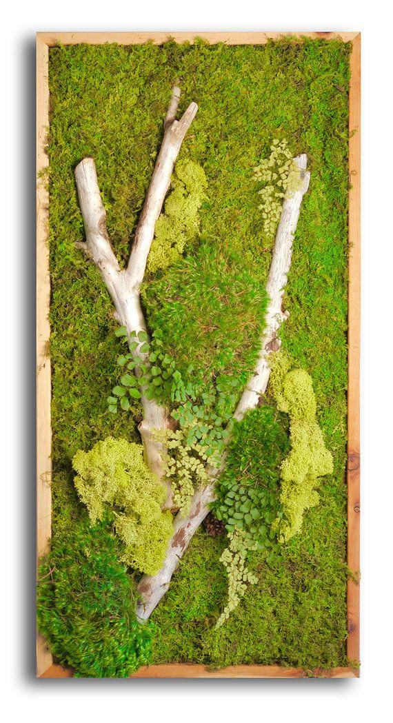 25 best ideas about moss wall art on pinterest moss wall moss art and art interiors. Black Bedroom Furniture Sets. Home Design Ideas
