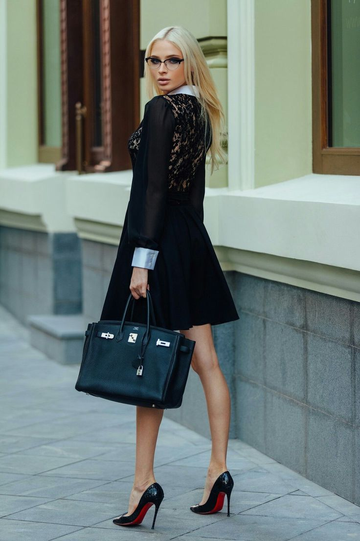 Alena Shishkova in #louboutins #hothighheelssexyoutfits #hothighheelsoffices