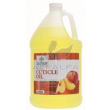 La Palm Spa Cuticle Oil - Peach - 1 gallon