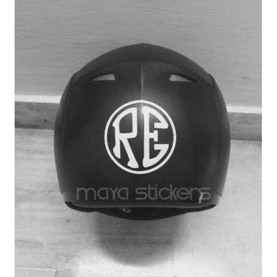 RE Royal Enfield Stickers For Helmet Royal Enfield Custom - Motorcycle helmet designs custom stickers