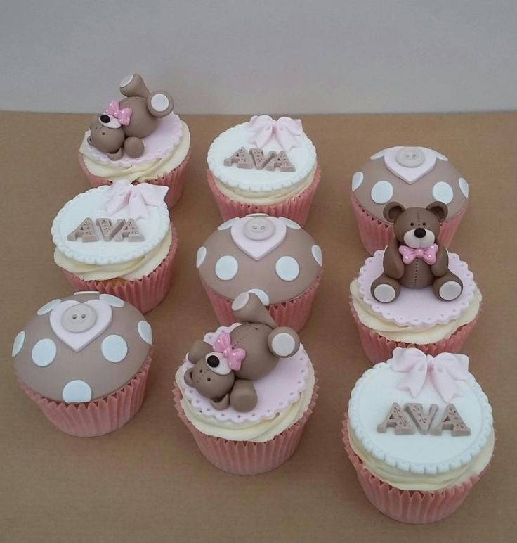 New Baby Cupcakes  by The Buttercream Pantry