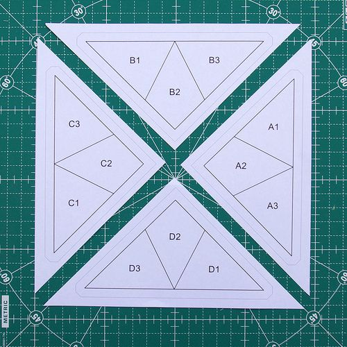 Red Pepper Quilts: Hummingbird Quilt Block Tutorial