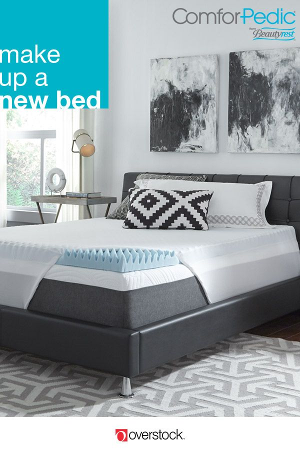 A Memory Foam Gel Mattress Topper For Little Extra Comfort Maybe New That Cradles You All Night Long Find Better Sleep In This