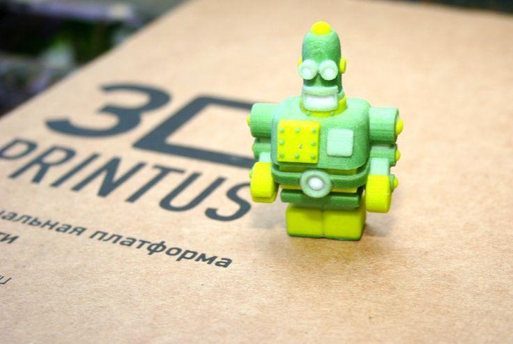 3D printed by 3DPrintus