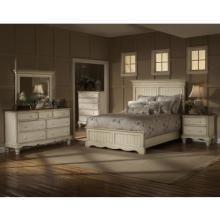Hillsdale Wilshire 5-Piece Antique White Bedroom Set - Queen - 1172570QS5