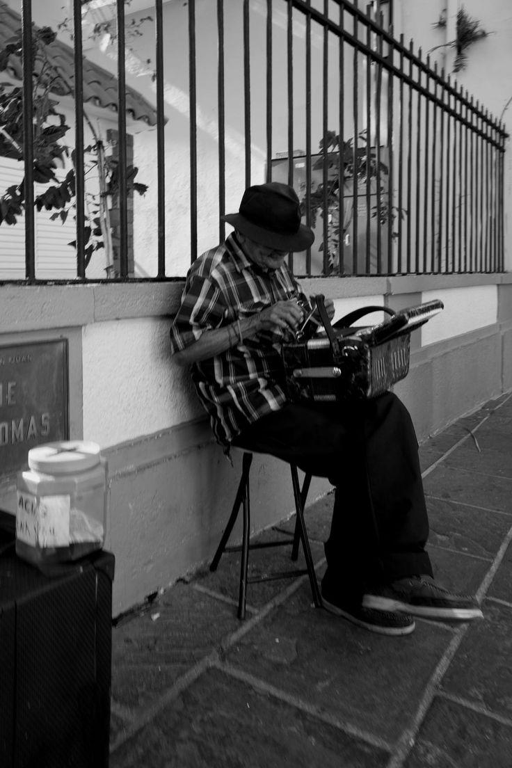 Musician reparing his instrument by Horacio Velazquez