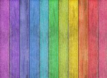 Fond en bois coloré abstrait de texture Images stock