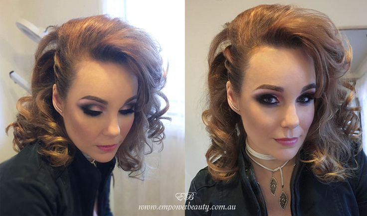 Make up and hairstyle by me special for photo shoot