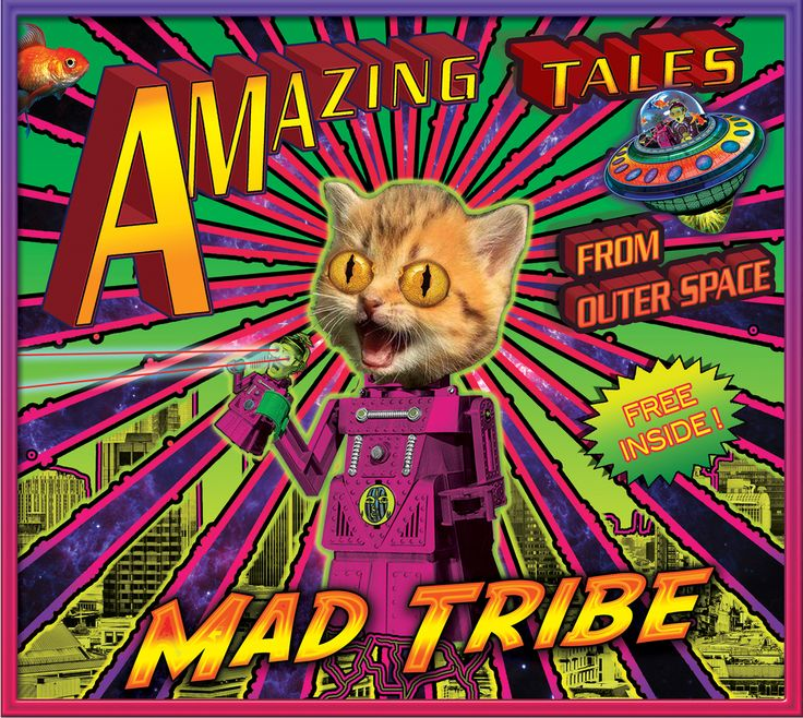 Amazing Tales CD : Mad Tribe  Released July 14 2017 on TIP Music, available for pre-sales now.  Mad Tribe is the fantastic collaboration between Space Tribe & Mad Maxx !    Amazing Tales from Outer Space  9 Mind blowing tracks to take you to the depths of outer & inner space. Pushing boundaries,
