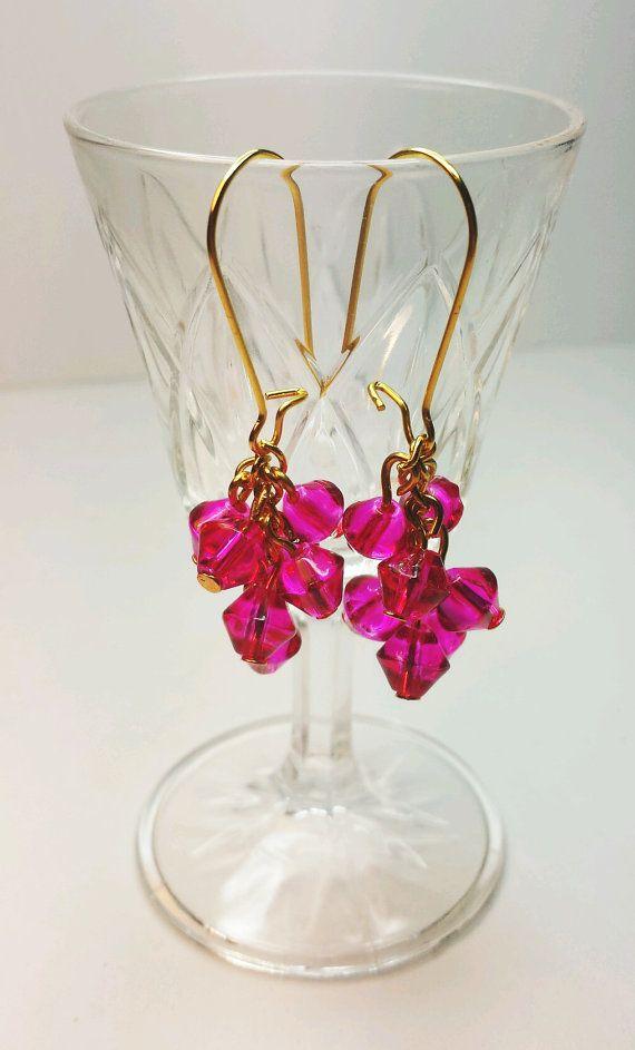 Chic Shock Pink Earrings