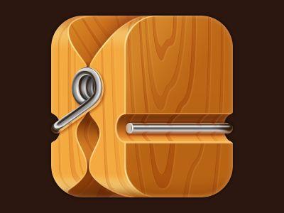 Clothespin iOS icon