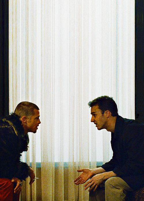 David FIncher's Fight Club (Brad Pitt and Edward Norton)