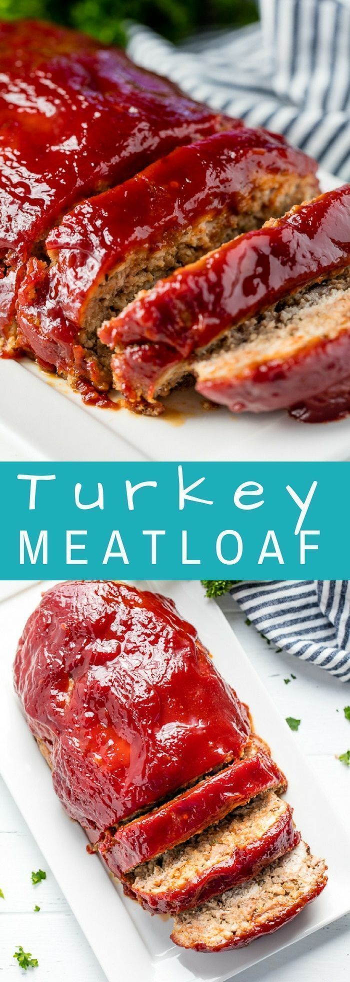 This Turkey Meatloaf recipe doesn't sacrifice any flavor. It's easy to make and is topped off with the most delicious glaze! Your family will love this heart healthy version of a classic American dinner. http://eatdojo.com/easy-healthy-meatloaf-recipes-be