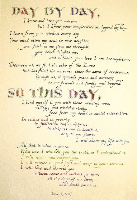 123 best Wedding vow and ceremony inspiration images on Pinterest ...