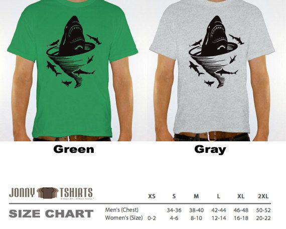 New Shark Tornado Unisex Tshirt for a Sharknado Party by JonnyTeez