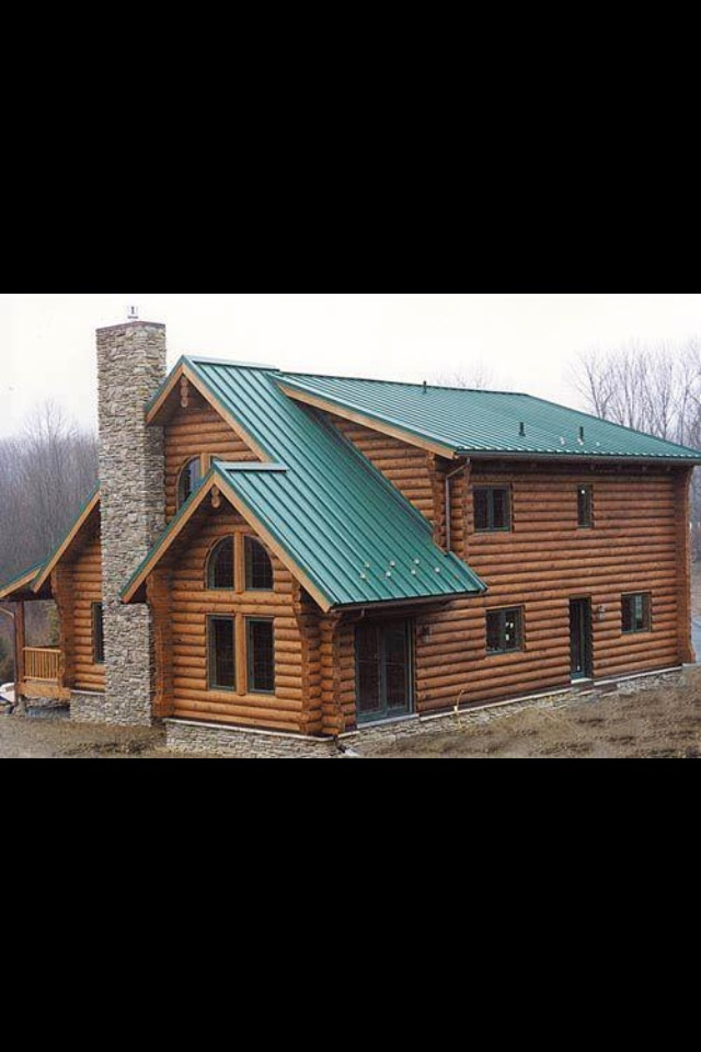 111 best metal roofing images on pinterest metal roof for Metal cabins homes