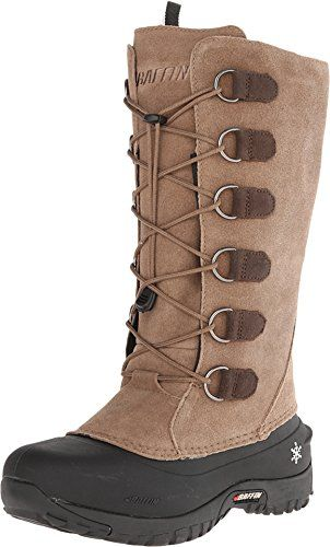 Baffin Women's Coco Insulated Suede Winter Boot,Taupe,11 M US >>> See this great product.
