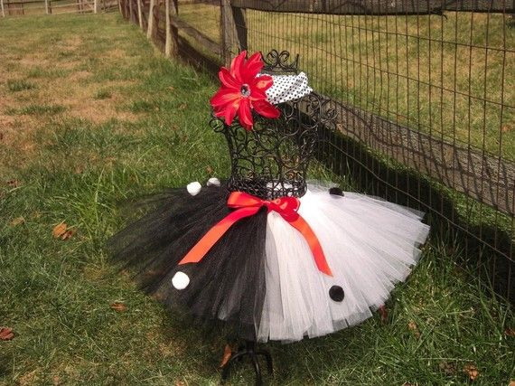 CRUELLA DEVILLE tutu Cruella Costume Baby by TheSugaredRibbon, $25.00