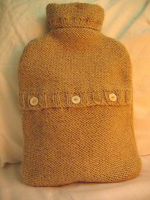 Hot water bottle cover | by coco knits