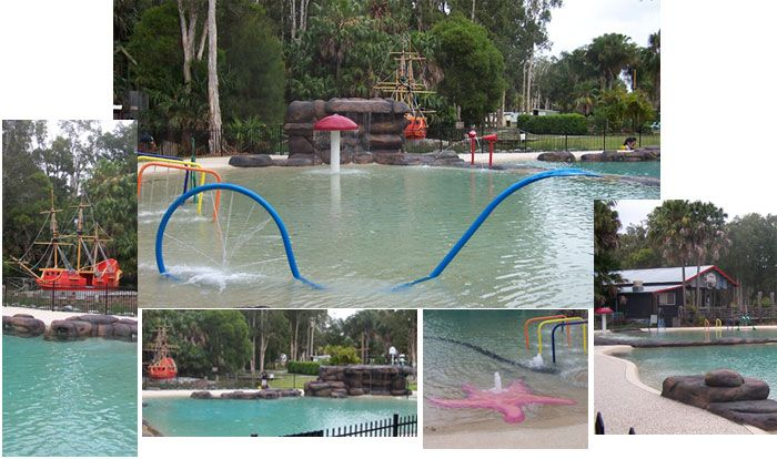 Smugglers Cove - a nautical themed holiday park set beside Pipers Bay in the heart of Forster.
